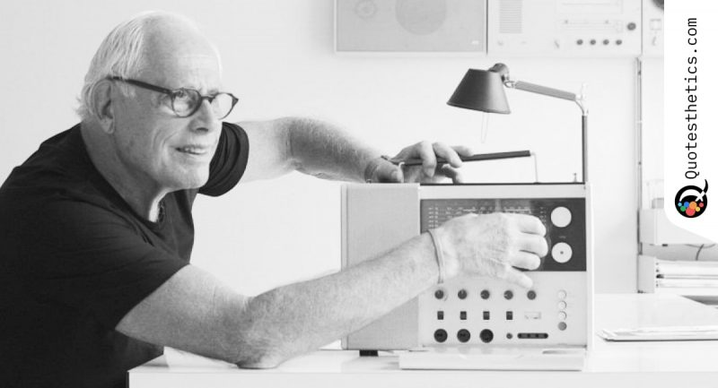 Dieter Rams on Product Design